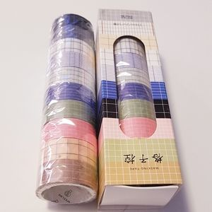 10 Washi Tape 15mm 2 meters